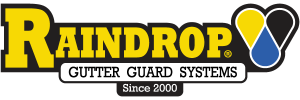 RainDrop Gutter Guard System Installation