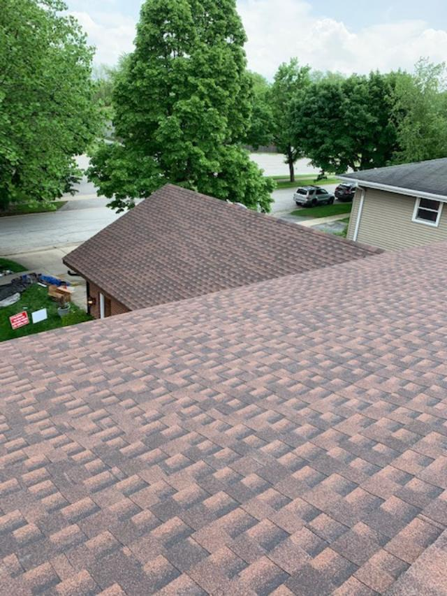 Recent GAF Roof Installation Arlington Heights