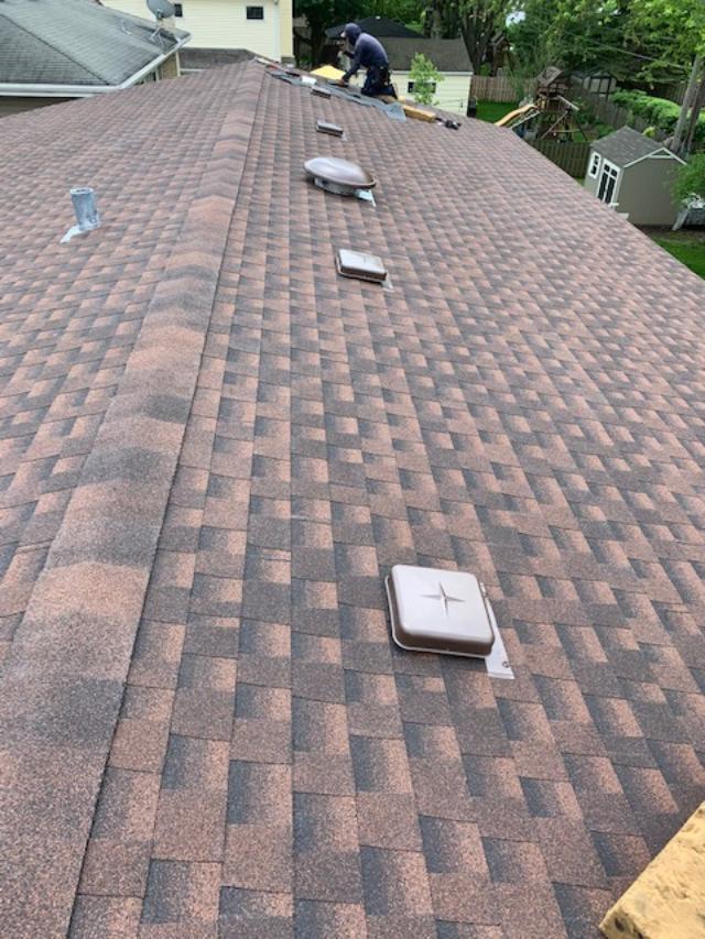 GAF Timberline HDz Hickory Roof Install