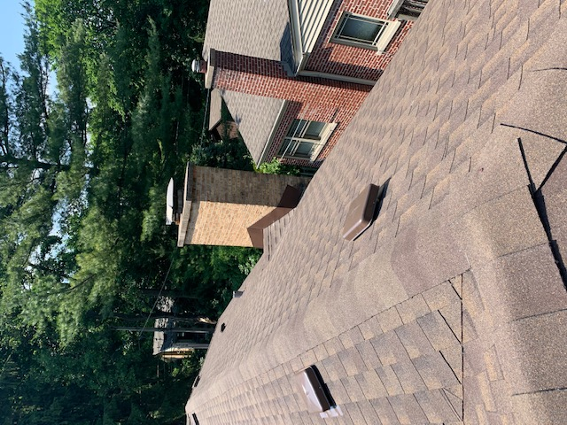 GAF Timberline HDz Barkwood Shingle roof.