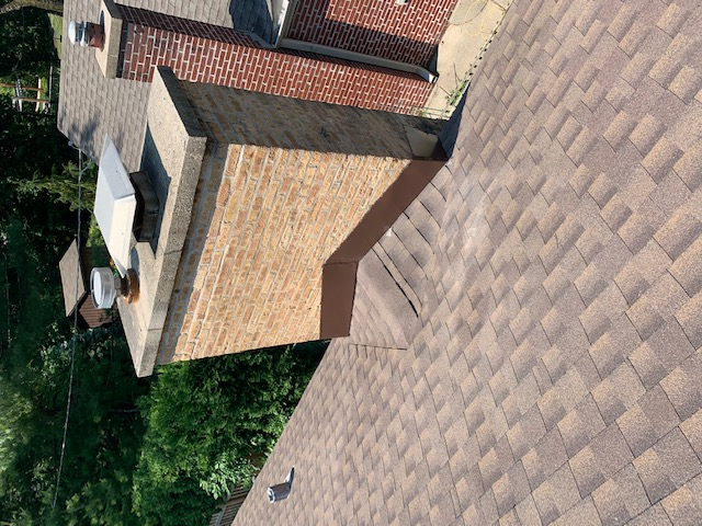 Chimney Flashing installation