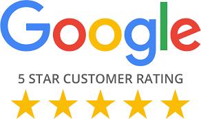 5 star customer rating on Google