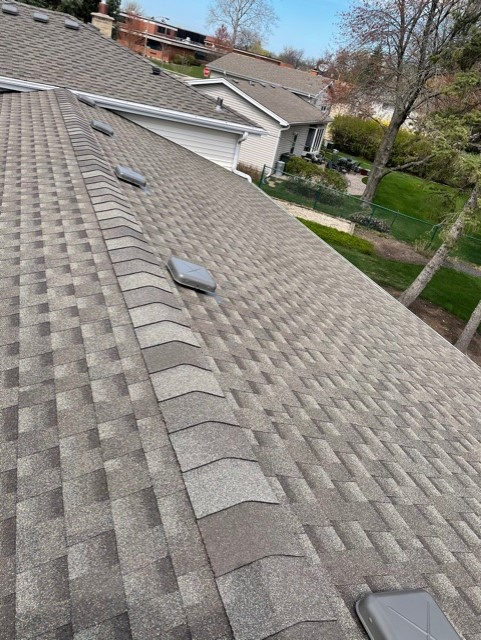 New roof installation Arlington Heights