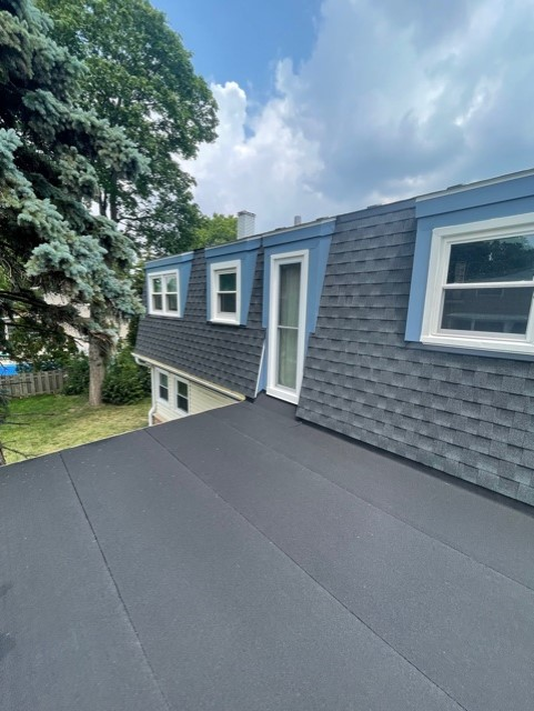 Flat Roof Install in Rolling Meadows