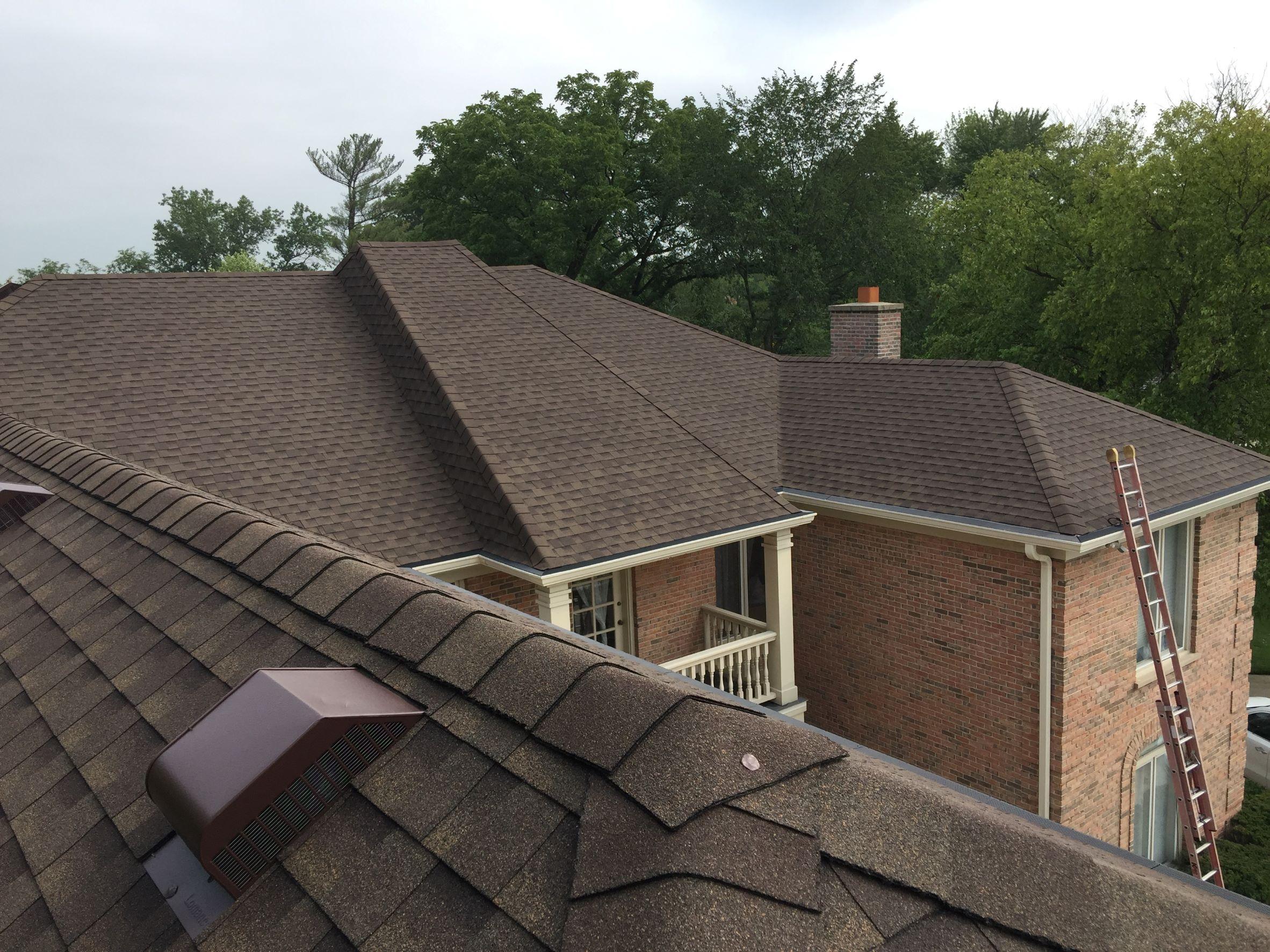 New GAF roof Glenview